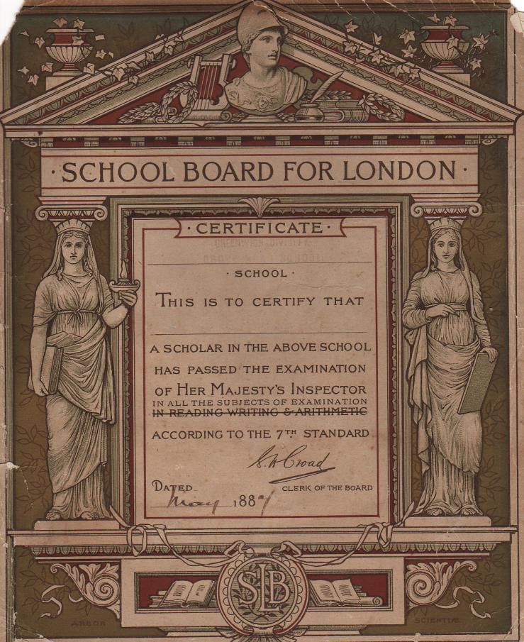 01 SLB Exam certificate 1887
